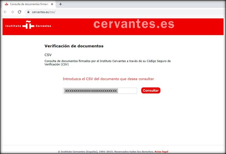 Formulario de solicitud para la verificación de documentos